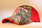 North Carolina State University Camo Halfback Hat