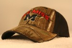 University of Mississippi Camo Halfback Hat