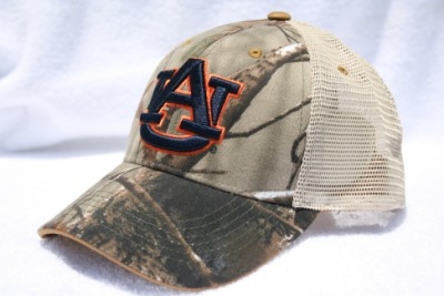 5207bde258c Auburn University TONAL Camo Truckers Hat