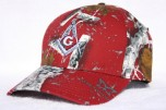Alabama Roll Tide RED Masonic GAMEDAY Hat | Cap