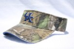 University of Kentucky SOLID MOSSY OAK Camo Visor