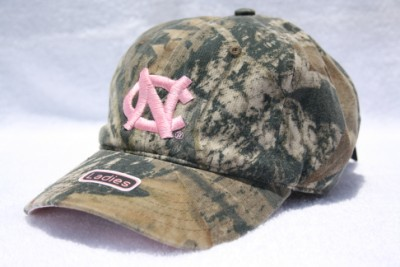 Ladies UNC MOSSYOAK PinkCamo Hat