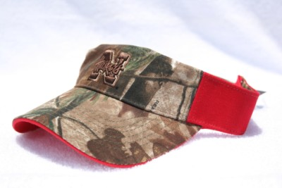 University of Nebraska Cornhuskers Camo Visor